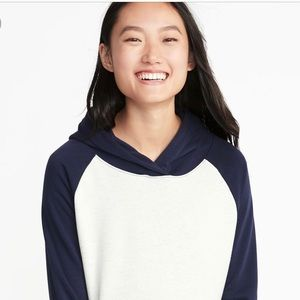 Old navy relaxed hooded sweatshirt NWT